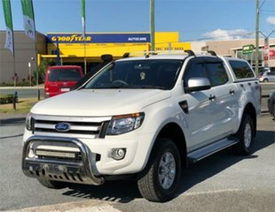 2015 Ford Ranger PX MkII XLS White 6 Speed Sports Automatic Utility