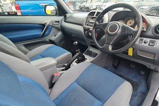 2001 Toyota RAV4 ACA20R Edge Silver 5 Speed Manual Hardtop.