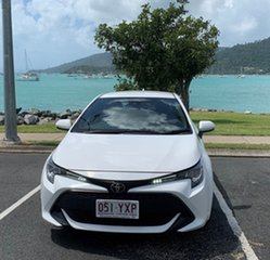 2019 Toyota Corolla Mzea12R Ascent Sport White Automatic Hatchback.