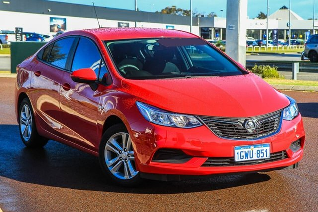 Used Holden Astra BL MY17 LS Rockingham, 2017 Holden Astra BL MY17 LS Red 6 Speed Sports Automatic Sedan