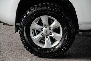 2011 Toyota Landcruiser Prado KDJ150R GXL (4x4) Glacier White 6 Speed Manual Wagon