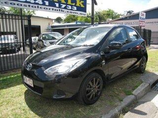 2009 Mazda 2 DE Neo Black 5 Speed Manual Hatchback.