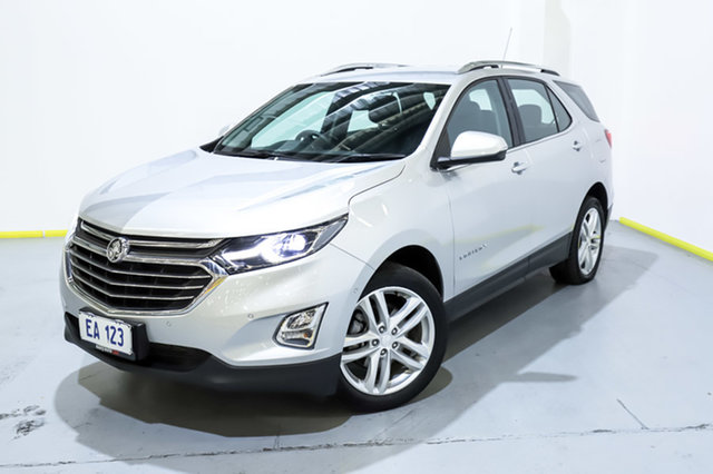 Used Holden Equinox EQ MY18 LTZ AWD Canning Vale, 2019 Holden Equinox EQ MY18 LTZ AWD Silver 9 Speed Sports Automatic Wagon
