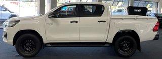2020 Toyota Hilux GUN136R SR Double Cab 4x2 Hi-Rider White 6 Speed Manual Utility