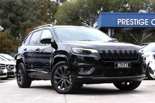 2020 Jeep Cherokee KL MY20 S-Limited Black 9 Speed Sports Automatic Wagon.