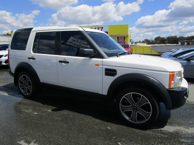 Used Land Rover Discovery 3 SE Kedron, 2006 Land Rover Discovery 3 SE White 6 Speed Sports Automatic Wagon