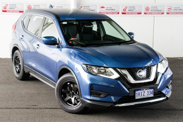 Pre-Owned Nissan X-Trail T32 Series 2 ST (4WD) Rockingham, 2018 Nissan X-Trail T32 Series 2 ST (4WD) Blue Continuous Variable Wagon