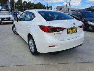 2017 Mazda 3 BN5278 Neo SKYACTIV-Drive White 6 Speed Sports Automatic Sedan.