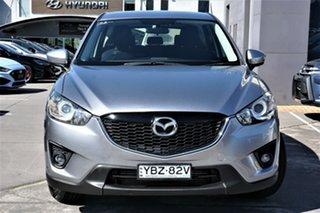 2014 Mazda CX-5 KE1021 MY14 Maxx SKYACTIV-Drive AWD Sport Silver 6 Speed Sports Automatic Wagon.
