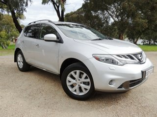 2012 Nissan Murano Z51 Series 3 ST Brilliant Silver 6 Speed Constant Variable Wagon.