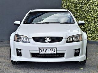 2007 Holden Commodore VE SV6 White 6 Speed Manual Sedan.