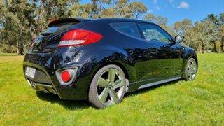 2012 Hyundai Veloster FS2 SR Coupe Turbo Black 6 Speed Sports Automatic Hatchback
