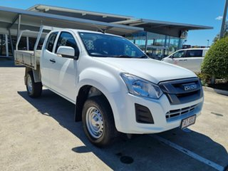 2017 Isuzu D-MAX MY17 SX Space Cab White 6 Speed Sports Automatic Cab Chassis.