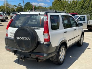 2005 Honda CR-V RD MY2005 4WD White 5 Speed Manual Wagon