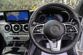 2019 Mercedes-Benz C-Class W205 809MY C300 9G-Tronic Iridium Silver 9 Speed Sports Automatic Sedan
