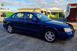 2000 Subaru Liberty B3 MY00 Heritage AWD Blue 4 Speed Automatic Sedan