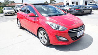 2013 Hyundai i30 GD Premium Red 6 Speed Sports Automatic Hatchback.