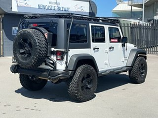 2013 Jeep Wrangler JK MY2013 Unlimited Sport White 5 Speed Automatic Softtop