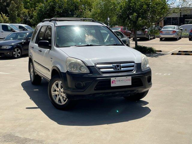 Used Honda CR-V RD MY2005 4WD Toowoomba, 2005 Honda CR-V RD MY2005 4WD White 5 Speed Manual Wagon
