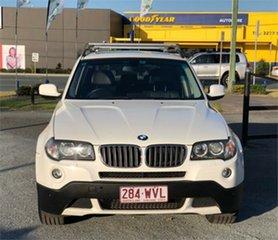 2009 BMW X3 E83 xDrive20d Lifestyle White 6 Speed Automatic Wagon.