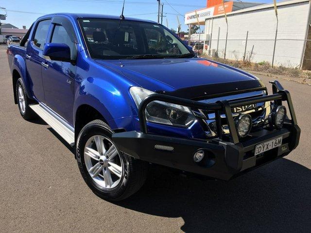 Used Isuzu D-MAX LS-M Dubbo, 2018 Isuzu D-MAX (No Series) LS-M Blue Sports Automatic
