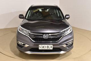 2016 Honda CR-V RM Series II MY17 Limited Edition Grey 5 Speed Automatic Wagon.