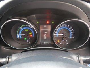 2016 Toyota Corolla ZWE186R Hybrid E-CVT Silver 1 Speed Constant Variable Hatchback Hybrid
