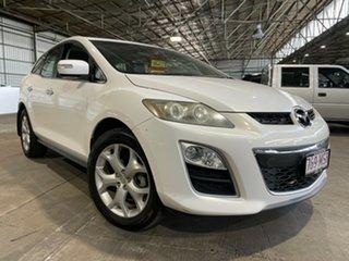2009 Mazda CX-7 ER1032 Luxury Activematic Sports White 6 Speed Sports Automatic Wagon.