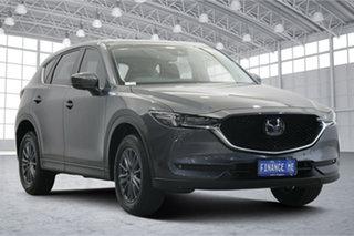 2019 Mazda CX-5 KF4WLA Touring SKYACTIV-Drive i-ACTIV AWD Machine Grey 6 Speed Sports Automatic.