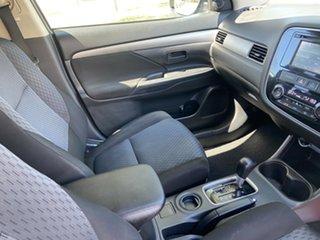 2012 Mitsubishi Outlander ZJ MY13 LS 2WD Grey 6 Speed Constant Variable Wagon