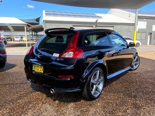 2012 Volvo C30 M Series MY12 T5 Geartronic R-Design Black 5 Speed Sports Automatic Hatchback