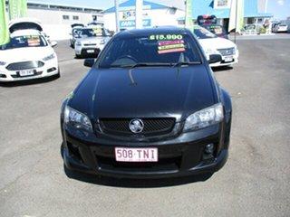 2010 Holden Commodore VE SV6 Black 5 Speed Manual Sedan.