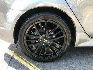 2017 Mitsubishi Lancer CF MY17 Black Edition (es) Grey 6 Speed CVT Auto Sequential Sedan