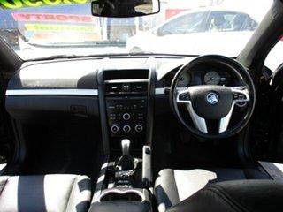 2010 Holden Commodore VE SV6 Black 5 Speed Manual Sedan