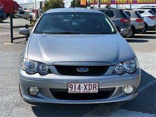 2005 Ford Falcon BA Mk II XR6 Silver 4 Speed Sports Automatic Sedan.