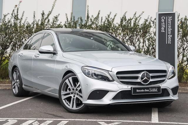 Certified Pre-Owned Mercedes-Benz C-Class W205 809MY C300 9G-Tronic Mulgrave, 2019 Mercedes-Benz C-Class W205 809MY C300 9G-Tronic Iridium Silver 9 Speed Sports Automatic Sedan