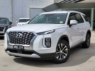 2020 Hyundai Palisade LX2.V1 MY21 AWD White 8 Speed Sports Automatic Wagon