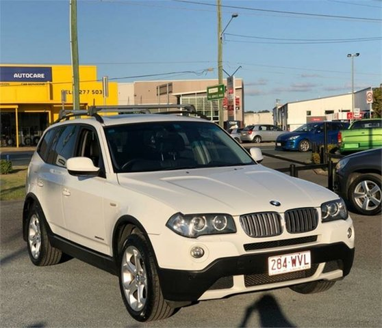 Used BMW X3 E83 Archerfield, 2009 BMW X3 E83 xDrive20d Lifestyle White 6 Speed Automatic Wagon