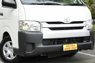 2015 Toyota HiAce KDH223R Commuter High Roof Super LWB White 5 Speed Manual Bus