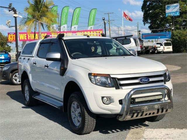 Used Ford Ranger PX MkII XLS Archerfield, 2015 Ford Ranger PX MkII XLS White 6 Speed Sports Automatic Utility