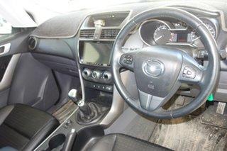 2018 Mazda BT-50 UR0YG1 GT Silver, Chrome 6 Speed Manual Utility