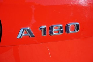 2015 Mercedes-Benz A-Class W176 805+055MY A180 D-CT Red 7 Speed Sports Automatic Dual Clutch