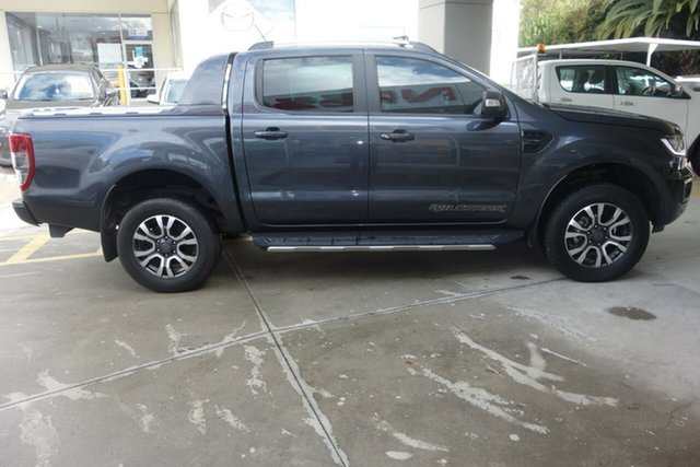 Used Ford Ranger PX MkIII 2021.25MY Wildtrak East Maitland, 2020 Ford Ranger PX MkIII 2021.25MY Wildtrak Grey 10 Speed Sports Automatic Double Cab Pick Up