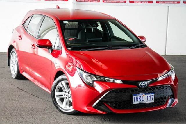 Pre-Owned Toyota Corolla ZWE211R Ascent Sport E-CVT Hybrid Myaree, 2020 Toyota Corolla ZWE211R Ascent Sport E-CVT Hybrid Feverish Red 10 Speed Constant Variable