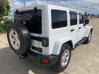 2015 Jeep Wrangler JK MY2015 Overland White/270315 5 Speed Automatic Hardtop.