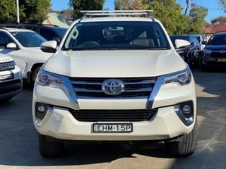 2019 Toyota Fortuner GUN156R Crusade Crystal Pearl 6 Speed Automatic Wagon.