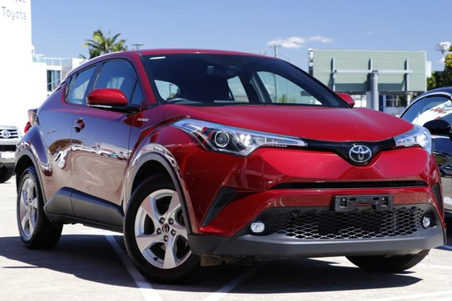 Pre-Owned Toyota C-HR NGX10R S-CVT 2WD Albion, 2019 Toyota C-HR NGX10R S-CVT 2WD Atomic Rush 7 Speed Constant Variable Wagon
