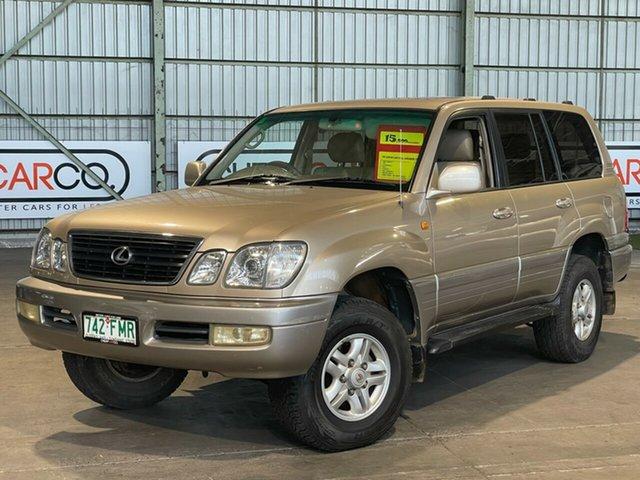 Used Lexus LX 100 LX470 Rocklea, 1998 Lexus LX 100 LX470 Gold 4 Speed Automatic Wagon