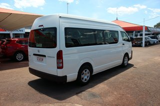 2017 Toyota HiAce TRH223R Commuter High Roof Super LWB French Vanilla 6 Speed Automatic