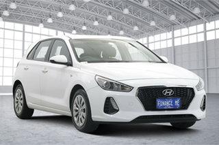 2019 Hyundai i30 PD MY19 Go White 6 Speed Sports Automatic Hatchback.